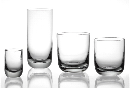 Bicchieri Leonardo Milano liquore