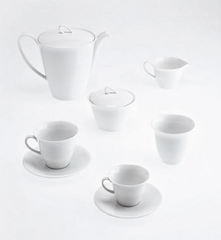 Tazza caffè con piattino Driade Kosmo Tws