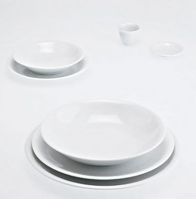 Piatto fondo dessert Driade Kosmo TWS set 6 pezzi