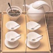 Servizio tè Driade Kosmo Polignac I e II