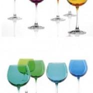 Set 6 bicchieri vetro Leonardo Rio Baloon blu