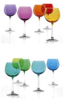 Set 6 bicchieri vetro Leonardo Rio Baloon verde