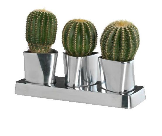 Set 3 vasetti alluminio Cierre