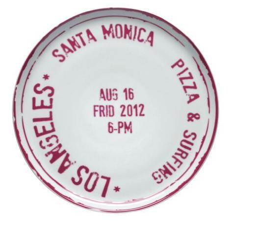 Piatto Pizza Bitossi Home Los Angeles