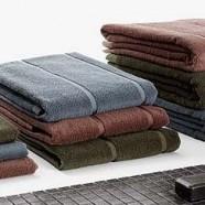 Asciugamano bagno ospite Cierre Hamman sabbia