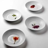 Piatto pasta Cierre Fleurs