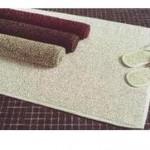Tappeto bagno Cierre Hamman sabbia