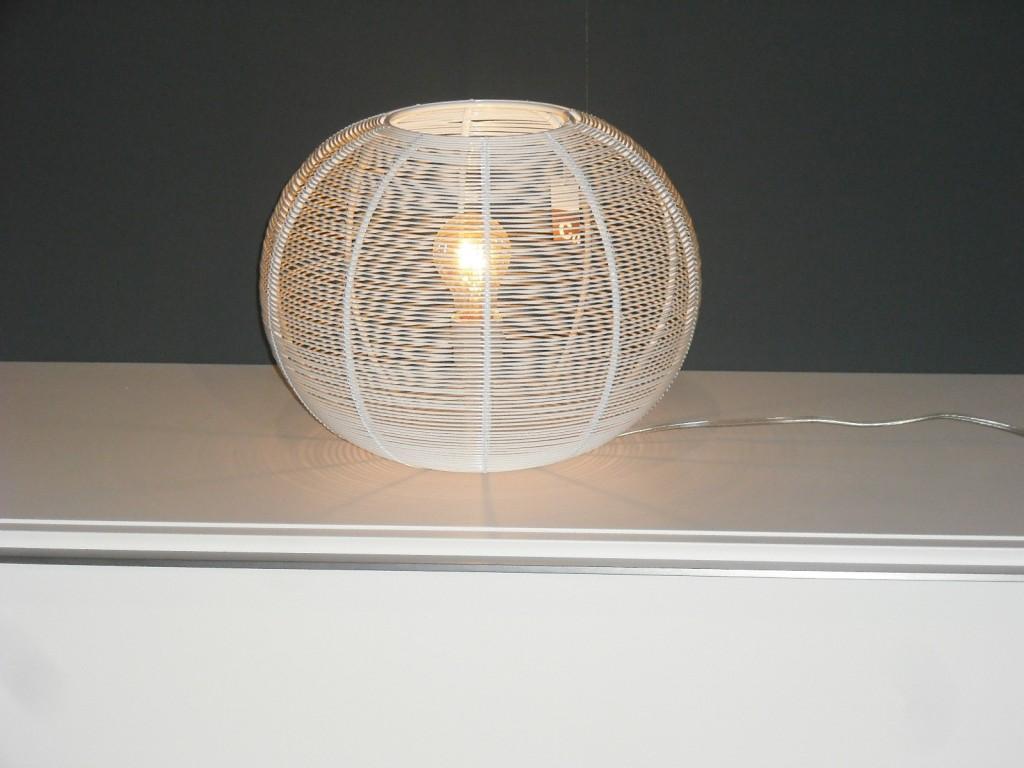 Lampada filo bianco Cierre Cage