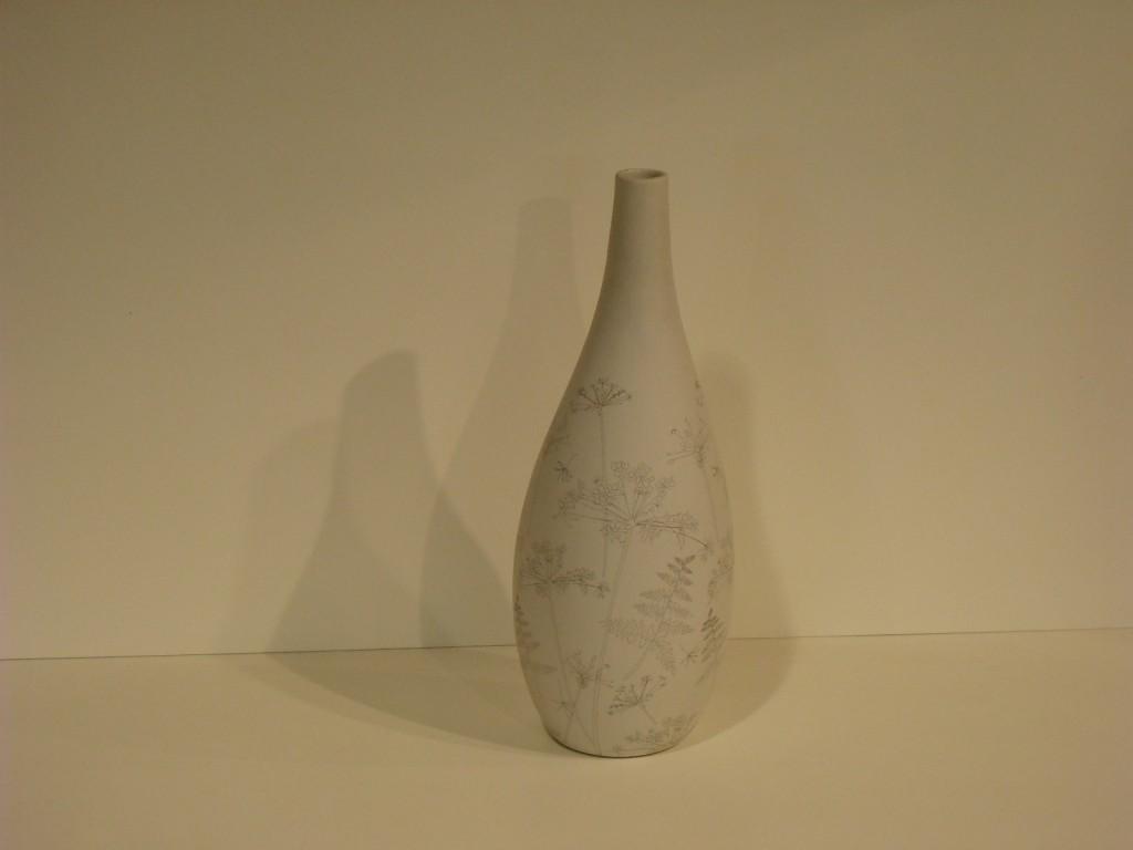 Vaso ceramica Cierre Print