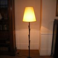 Lampada bronzo Iris