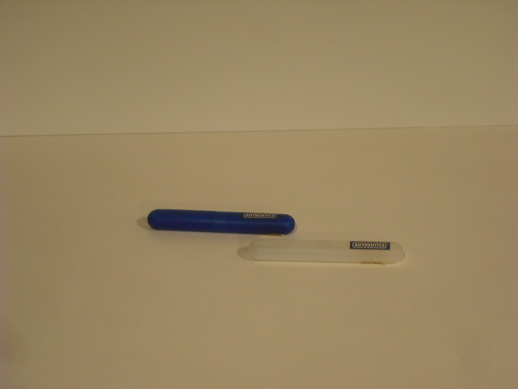 Portaspazzolino blu Authentics