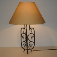 Lampada bronzo Flore
