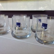 Set 6 bicchieri vetro Leonardo Mondo