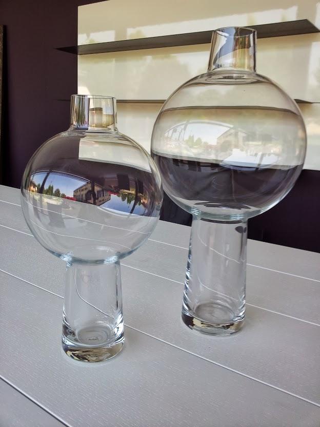 Vaso vetro Leonardo Bolero h.35