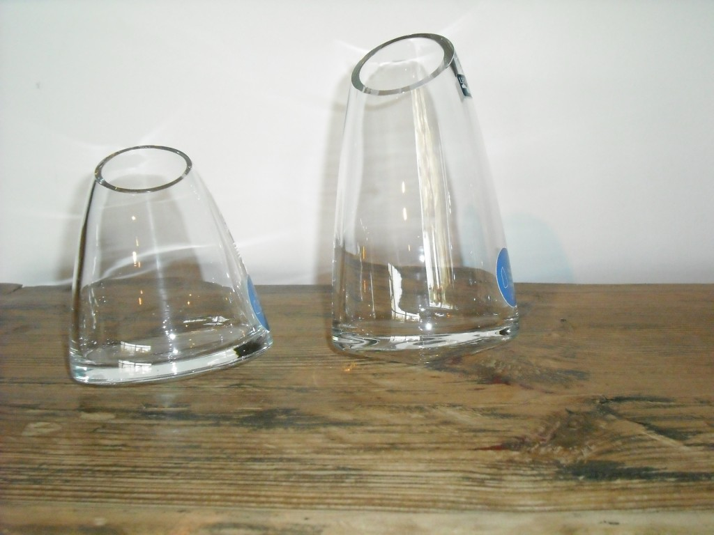 Vaso vetro GIARDINO ANEMONE h.18 Leonardo