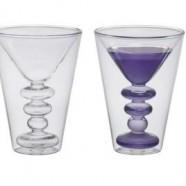 Set 2 Bicchieri Doppia Camera Martini Bitossi