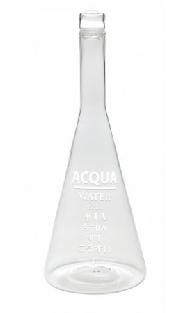 Bottiglia Acqua White Word Collection Bitossi