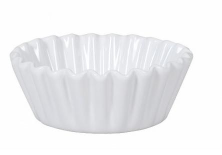 Set 4 mini Pie Dish Dolcemente Bianco Bitossi