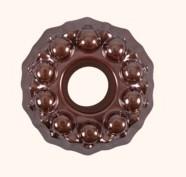 Stampo Torta con foro Dolcemente Rame Bitossi