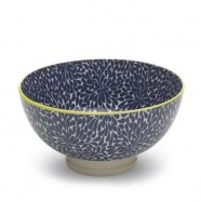 TUE Zafferano Set 6 Bowl Media Fantasia BLU