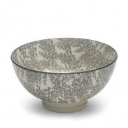 TUE Zafferano Set 6 Bowl Media Fantasia GRIGIO
