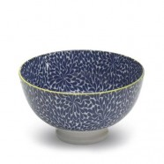 TUE Zafferano Set 6 Bowl Piccola Fantasia BLU