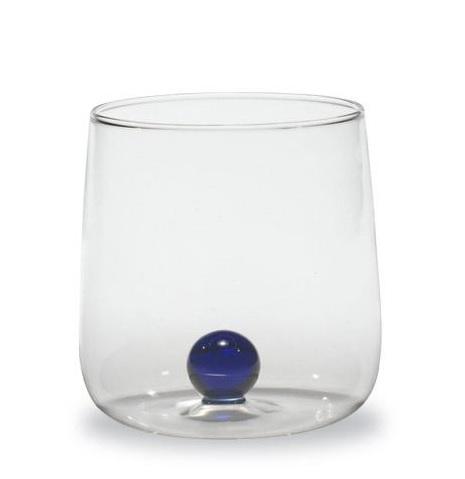 BILIA Zafferano Set 6 Bicchiere Tumbler Bilia BLU