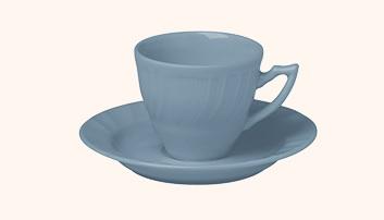 Set 6 tazze caffè con piattino Romantic Carta zucchero Bitossi Home