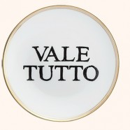 """Piattino La Tavola Scomposta """"VALE TUTTO"""" Bitossi Home"""